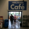 Bilder från Biltema Café