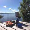 Bilder från Tegnabysjön Badplats