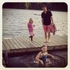 Bilder från Kristineberg stora, Storsjön