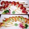 Bilder från Okinawa sushi