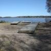 Bilder från Husbybadet, Strängnäsfjärden