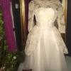 Ting från förr och nu 50tals Bröllopsklänning