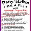 Bilder från Partyfabrikens Mat och Fika