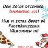 Bilder från Fagerås Pizzeria