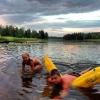 Bilder från Vansjön