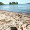 Bilder från Nynäs Sandviks badplats, Östersjön