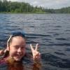 Bilder från Östra Valsjöns badplats, Hedared