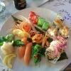Fräsch vacker och god sushi
