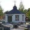 Bilder från Älvkyrkogårdens kapell, Kalix
