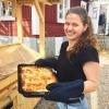 Homemade vegetarian lasagna