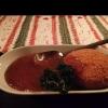 Friterad camembert med varm hjortron sylt