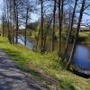 Cykla och promenera runt Nossan som rinner genom Grästorp.