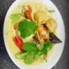 Vegansk gröncurry med tofu