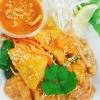 Vegansk Pad Thai med jordnötsmak
