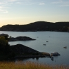 Utsikt över Gullmarsfjorden