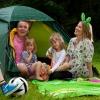 Bilder från Lisebergs drop-in camping Delsjön