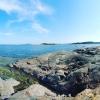 bild från klipporna vid vedeldade bastun
