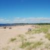 Njut av den långa sandstranden , gångavstånd från Gullbrannagården