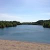 Bilder från Husby blå lagun