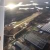 Borås Flygplats från 2200 fot