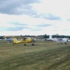 Det var många flygande besökare den dagen.