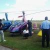 Ett antal gyrokoptrar besökte Bunge i samband med 80-årsjubileet.