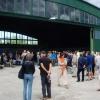Många besökande med anledning av 80-årsjubileet.