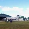 Pilatus PC-12/47E SE-MLG närmast kameran.