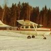 Bilder från Edsbyn flygfält