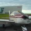 Bilder från Halmstads flygplats