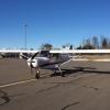 Bilder från Karlskoga flygplats