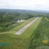 Bilder från Ludvika flygplats