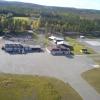 Bilder från Lycksele flygplats