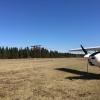 Bilder från Öresten flygfält