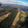 Öresten flygfält från 2000 fot