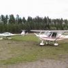 Bilder från Ramsele flygfält