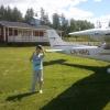 Bilder från Säffle flygfält