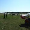 Bilder från Tierp flygfält