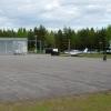 Bilder från Västervik flygfält