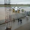 Bilder från Visby flygplats