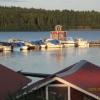 Bilder från Vikarbyns båthamn, Camping