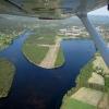 Bilder från Älvdalen flygfält