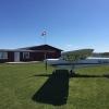 Bilder från Fjärås , Duvhed flygfält