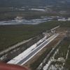Bilder från Åmsele flygfält