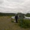 Bilder från Gäddede / Frostlanda flygfält