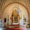 Altaruppsatsen, troligen ett krigsbyte från Polen, skänktes 1661