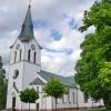 Bilder från Värnamo kyrka