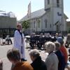 Bilder från Kungsbacka kyrka
