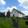 Bilder från Hajoms kyrka