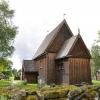 Bilder från Hedareds stavkyrka